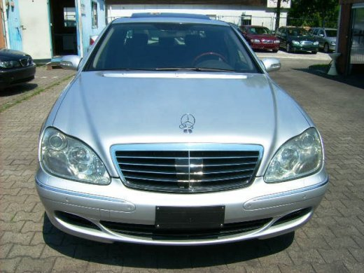 2004 MERCEDES-BENZ S500 Online Average Sale Price HKD$29,086