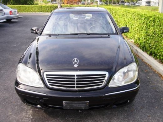 2000 MERCEDES-BENZ S320 Online Average Sale Price HKD$22,527