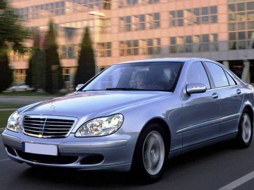 2002 MERCEDES-BENZ S320 Online Average Sale Price NTD$154,444