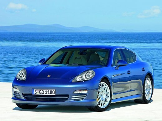2009 PORSCHE PANAMERA TURBO Online Average Sale Price HKD$593,500