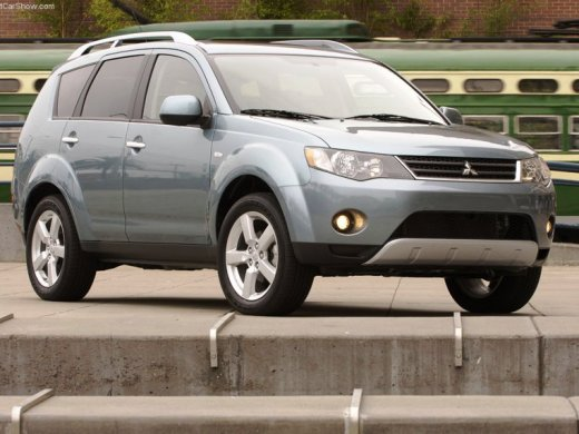 2008 MITSUBISHI OUTLANDER Online Average Sale Price HKD$51,000