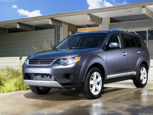 2008 MITSUBISHI OUTLANDER Online Average Sale Price NTD$199,683