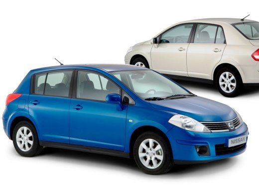 2005 NISSAN TIIDA HATCHBACK Online Average Sale Price HKD$32,300