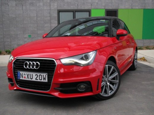 2012 AUDI A1 1.4T Online Average Sale Price AUD$12,628