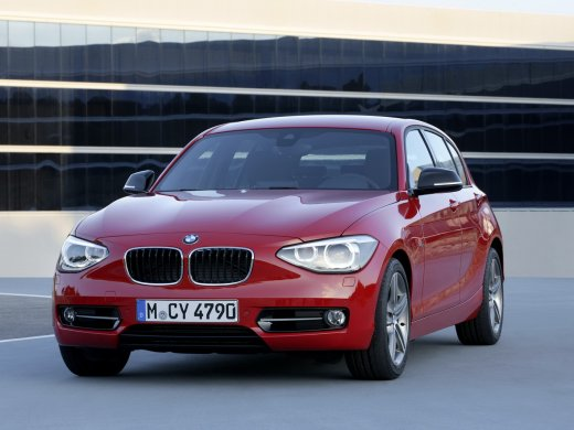 2013 BMW 116I(F20) Online Average Sale Price HKD$120,170