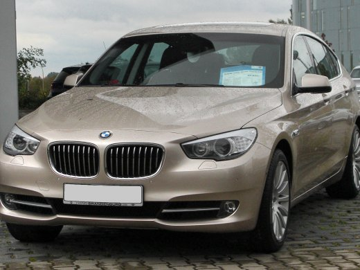 2011 BMW 535I GT Online Average Sale Price HKD$163,429