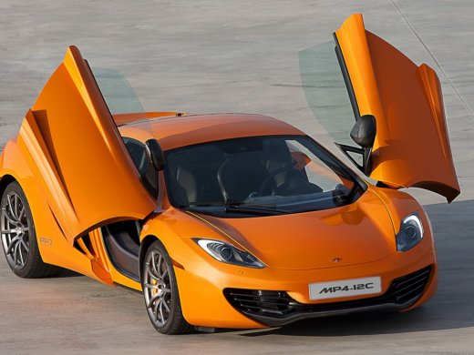 2012 MCLAREN MP4 12C Online Average Sale Price HKD$1,464,545