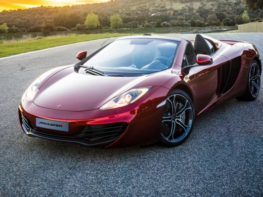 2013 MCLAREN MP4 12C SPIDER Online Average Sale Price HKD$1,340,286