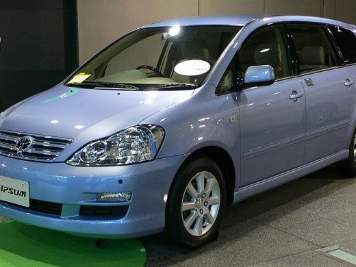 2007 TOYOTA PICNIC Online Average Sale Price HKD$40,844