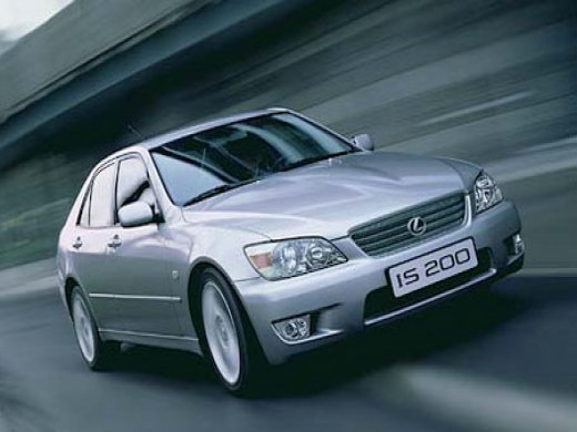 2002 LEXUS IS200 Online Average Sale Price NTD$170,765