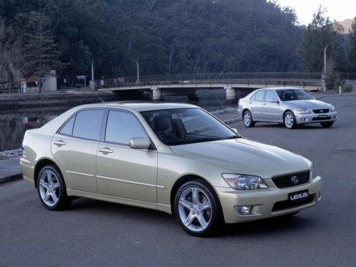 2002 LEXUS IS200 網上放售平均價 HKD$19,622