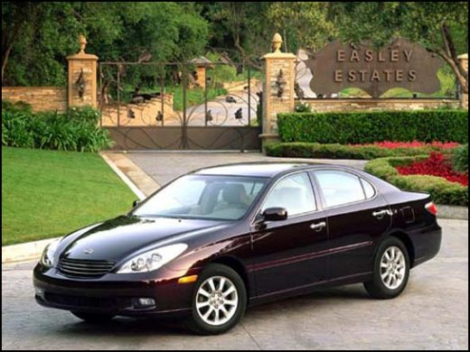 2003 LEXUS ES300 Online Average Sale Price HKD$19,508