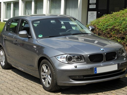 2007 BMW 120I Online Average Sale Price HKD$27,067