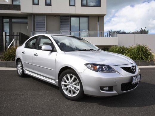 2008 MAZDA MAZDA3 1.5 Online Average Sale Price HKD$28,765