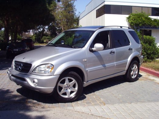 2001 MERCEDES-BENZ ML320 Online Average Sale Price HKD$19,383