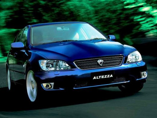 2000 TOYOTA ALTEZZA Online Average Sale Price HKD$23,328