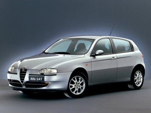 2005 ALFA ROMEO 147 2.0 Online Average Sale Price AUD$7,848