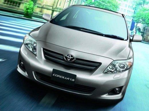 2007 TOYOTA COROLLA Online Average Sale Price HKD$33,874