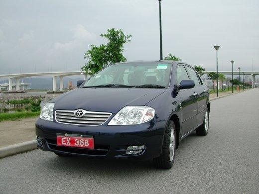 2003 TOYOTA COROLLA Online Average Sale Price HKD$15,571