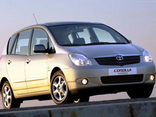 2002 TOYOTA COROLLA VERSO Online Average Sale Price HKD$15,182