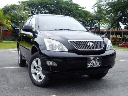 2004 TOYOTA HARRIER 2.4 Online Average Sale Price HKD$36,169