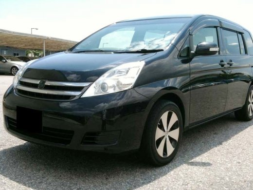 2008 TOYOTA ISIS 2.0 Online Average Sale Price HKD$36,595