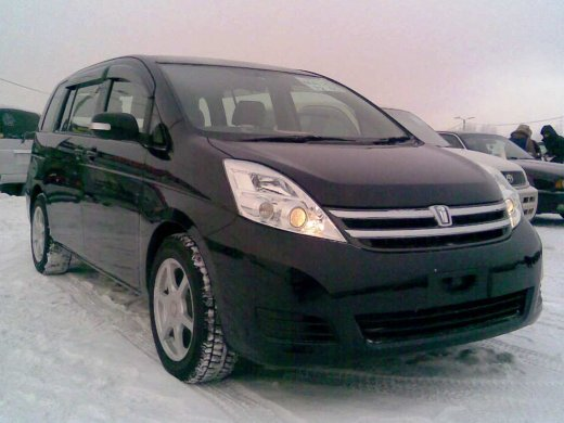 2005 TOYOTA ISIS 2.0 Online Average Sale Price HKD$34,047