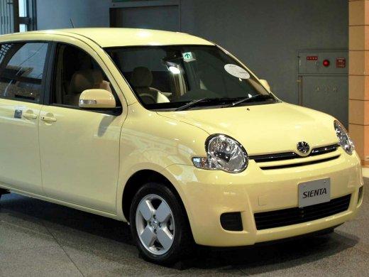 2011 TOYOTA SIENTA Online Average Sale Price HKD$84,050