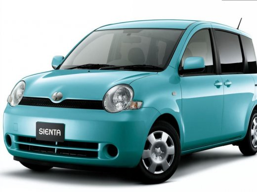 2009 TOYOTA SIENTA 網上放售平均價 HKD$52,123