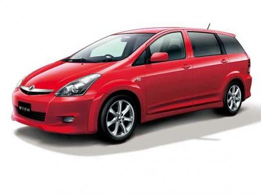 2005 TOYOTA WISH 2.0 Online Average Sale Price NTD$242,250