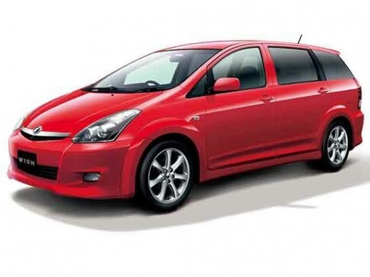 2005 TOYOTA WISH 2.0 Online Average Sale Price HKD$27,840