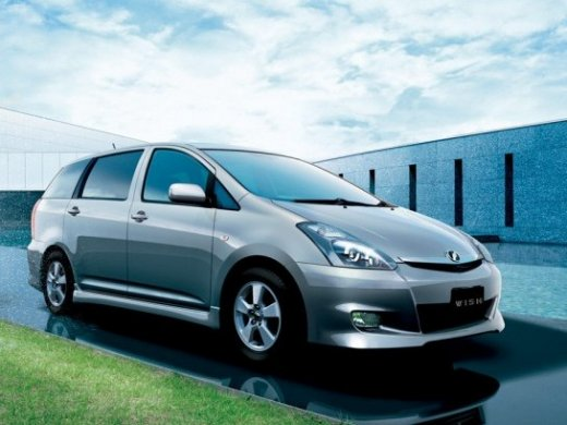 2003 TOYOTA WISH 1.8 Online Average Sale Price HKD$19,347