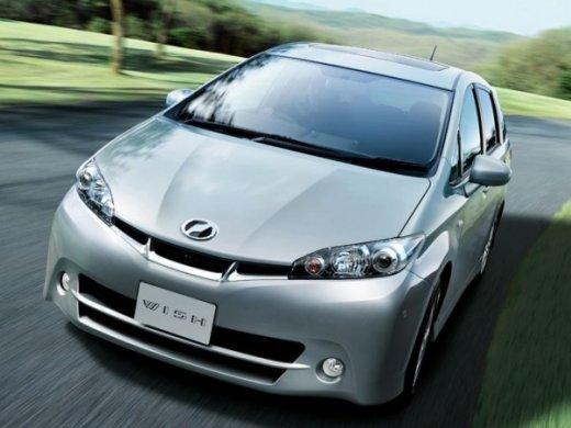 2011 TOYOTA WISH 2.0 Online Average Sale Price HKD$106,971