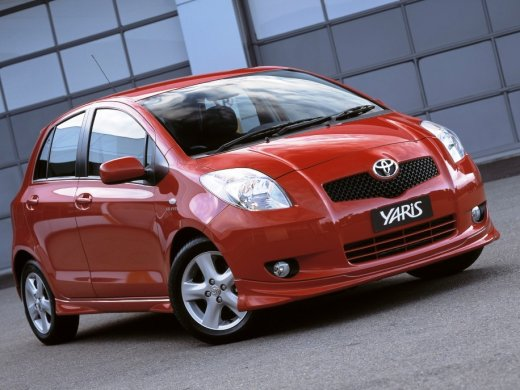 2007 TOYOTA YARIS Online Average Sale Price HKD$32,413