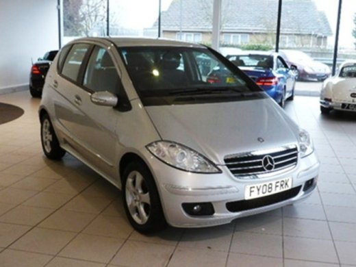 2009 MERCEDES-BENZ A150 Online Average Sale Price HKD$47,960